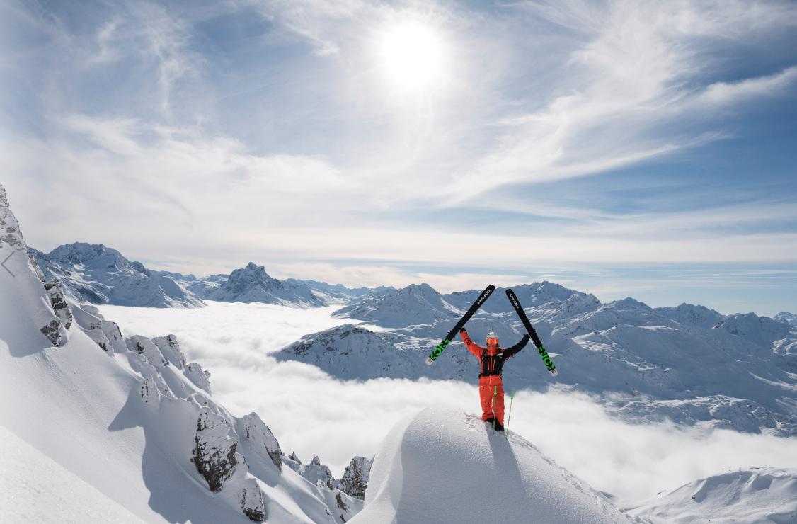 In Österreichs größtem zusammenhängenden Skigebiet St. Anton am Arlberg läuft seit 30. November 2018 die Wintersaison Foto: TVB St. Anton am Arlberg/Fotograf Josef Mallaun